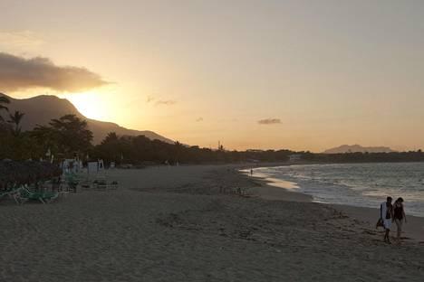 Dominikaaninen tasavalta on suosittu lomakohde.