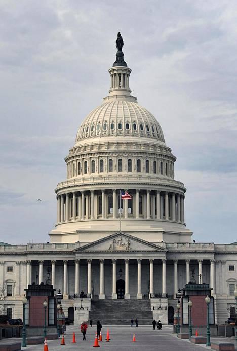 Yhdysvaltain kongressi on tiistai-iltana presidentti Donald Trumpin näyttämönä.