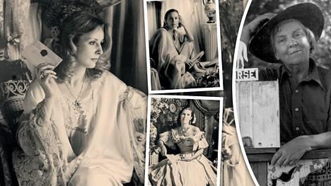 Lady Ostapeck eli Alma Kaukinen (oikealla) otti taianomaisia kuvia, joissa yhdistyi nykyhetki ja menneisyys.