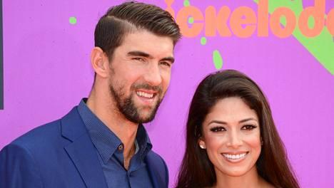 Michael Phelps ja Nicole Johnson avioituivat 2016.