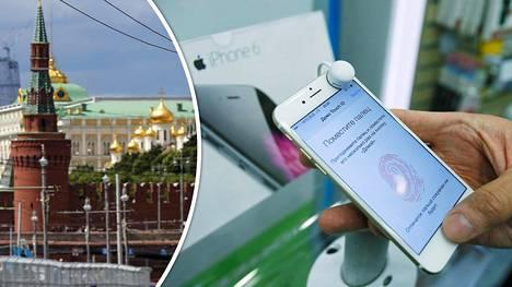 Apple on tunnettu yksityisyyden puolestapuhujana. Venäjän lainsäädäntö pakottaa sen nyt laittamaan puhelimiinsa ulkopuolisia sovelluksia.