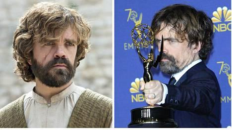 Tyrion on jo kolmen Emmyn arvoinen suoritus.