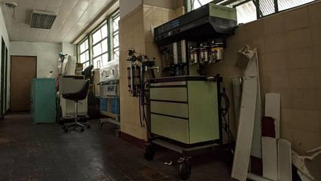 Lääkepula on aiheuttanut kriisin venezuelalaisissa sairaaloissa. Arkistokuva huhtikuulta Caracasista.
