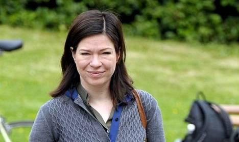 Anni Sinnemäki johti vihreät vaalikamppailuun vuonna 2010.
