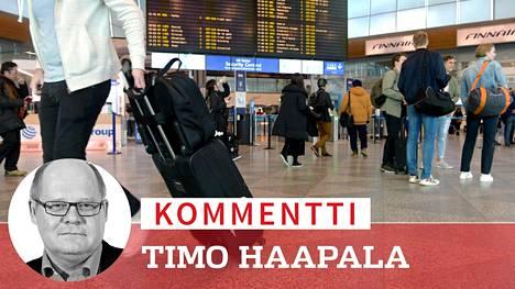 Ala-arvoinen valmistautuminen koronakriisiin paljastui kaikkein karummin Helsinki-Vantaan lentoasemalla, josta viruksenkantajat pääsivät levittäytymään pitkkään ympäri Suomen ilman mitään kontrollia.