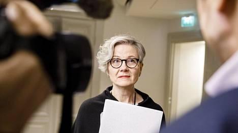 Valtakunnansovittelija Vuokko Piekkala.