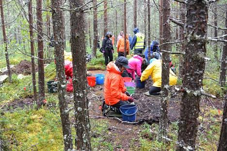Vapaaehtoiset kaivajat auttavat arkeologeja tämän viikon.