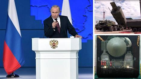 """Putin puhui taas uusista aseista, ja niitä tulee nopeasti – """"tuomiopäivän torpedoja"""" kuljettava sukellusvene vesille jo keväällä"""