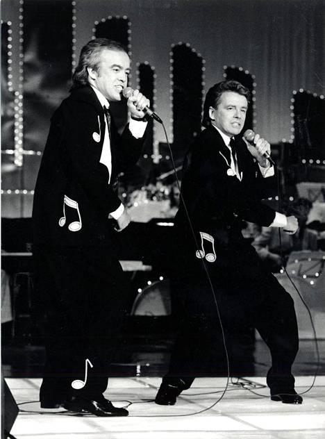 Matti ja Teppo vuonna 1988.