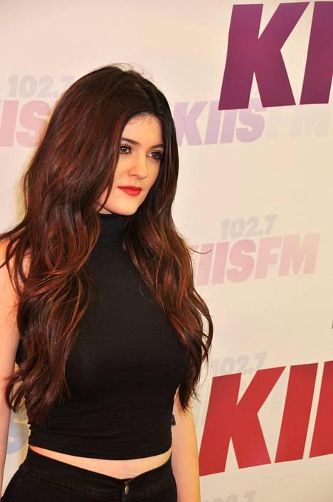 Vielä 2013 Kylie näytti hyvin erilaiselta.