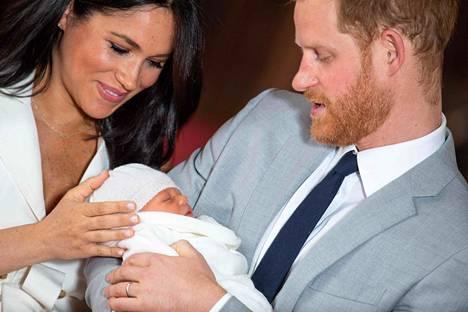 Prinssi Harryn ja herttuatar Meghanin esikoinen syntyi toukokuun alussa.