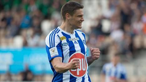 Filip Valencic lähti HJK:sta kesken viime kauden.