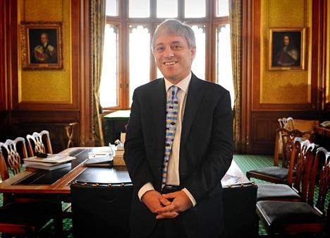 John Bercow valittiin alahuoneen puhemieheksi vuonna 2009.