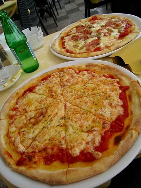 Italia tunnetaan maukkaista pizzoistaan.