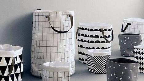 Pyykkikori kuin sisustusesine – näillä kaunistat kylpyhuoneen