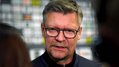 Jukka Jalonen on Leijonien päävalmentaja.