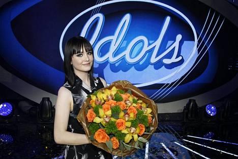 Anniina Timonen voitti Idolsin kahdeksannen tuotantokauden joulukuussa 2017.