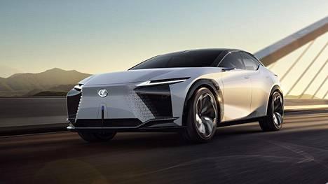 LF-Z Electrified on Lexuksen muotoilututkielma, joka kertoo merkin tulevaisuudesta.
