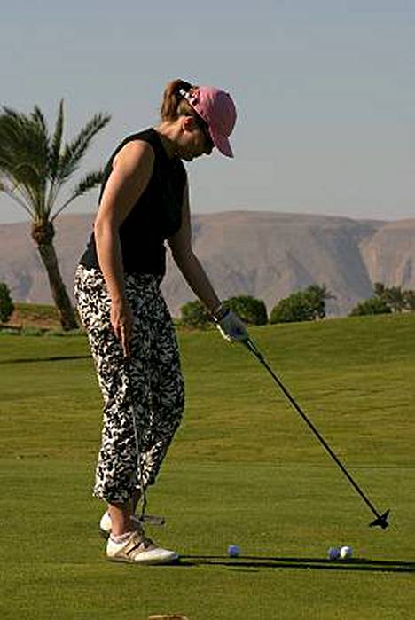Suosittuja Lähi-idän golfmaita ovat myös Tunisia ja Egypti. Kuva on Egyptin El Gounasta.