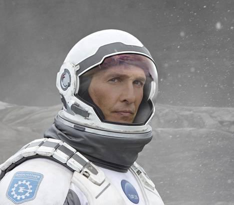 Matthew McConaughey elokuvassa Interstellar (2014).