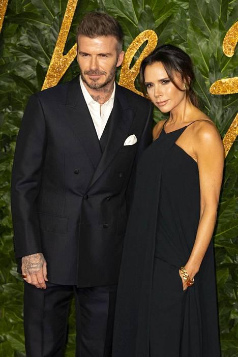 Victoria Beckhamia ei usein nähdä hymyileväisenä.