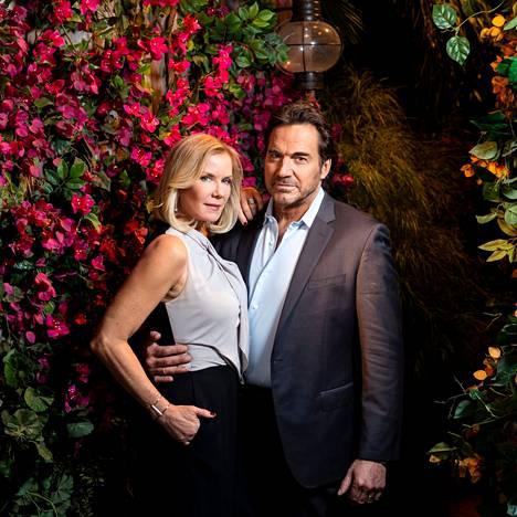 Kaunareiden Brooke Logan ja Ridge Forrester ovat olleet naimisissa jo ainakin kahdeksan kertaa. Ridgeä näyttelee nykyään Thorsten Kaye.