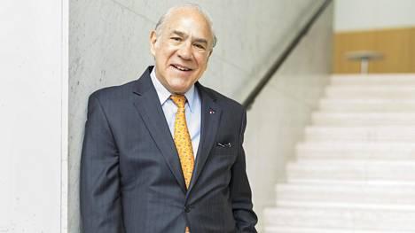 OECD:n pääsihteeri Ángel Gurría kävi Helsingissä Suomen 50-vuotisen OECD-jäsenyyden kunniaksi.