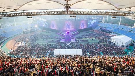 Viime vuoden Worlds -finaalit pelattiin Etelä-Koreassa Incheon Munhak -stadionilla.