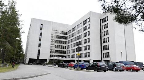 Nihtisillan vastaanottokeskus Espoossa.
