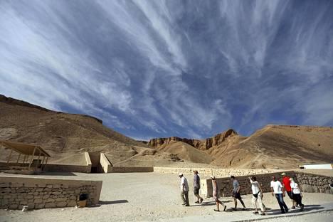 Kuninkaiden laakso Egyptissä.