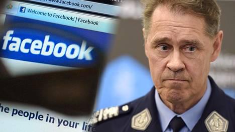 Poliisiylijohtaja Seppo Kolehmainen tuomitsee jyrkästi epäillyt kirjoitukset.
