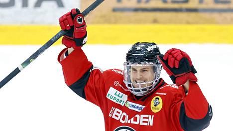 Sebastian Wännström oli SM-liigassa pitelemätön.