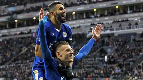 Leicesterin mestaruus on erittäin lähellä. Ennen kauden alkua siihen tuskin uskoi kukaan, eivät ainakaan vedonvälittäjät.