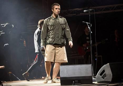 Gallagher keikalla Turussa 2017.
