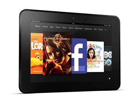 Amazonin Kindle Fire ei ole ihan heti saamassa seuraa Amazonin älypuhelimesta.
