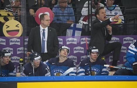 Lauri Marjamäen kovaääniset huudot ovat kaikuneet kaikkien korviin Suomen otteluissa.