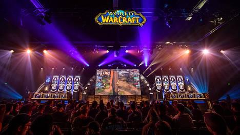 World of WarCraftin suurimmat turnaukset pelataan vuosittain BlizzCon-tapahtumassa.