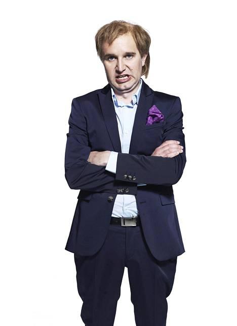 Joonas Nordman imitoi Pelimiehessä Hjallis Harkimoa.