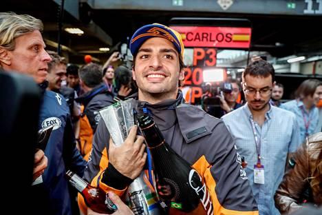 Carlos Sainz on ollut ehdottomasti yksi tämän kauden onnistujista F1-sarjassa.