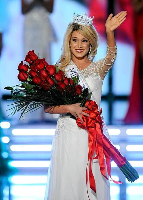 Miss Nebraska Teresa Scanlan on tuore Miss Amerikka.