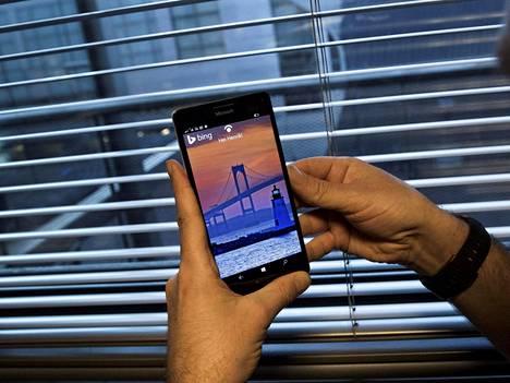 Lumia 950 XL on Microsoftin nykyinen lippulaivapuhelin.