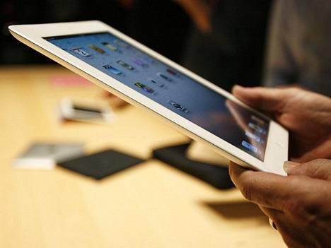 Applen markkinaosuus tablet-laitteissa on lähes 90 prosenttia. Apple julkisti viime viikolla iPad 2 -laitteen.