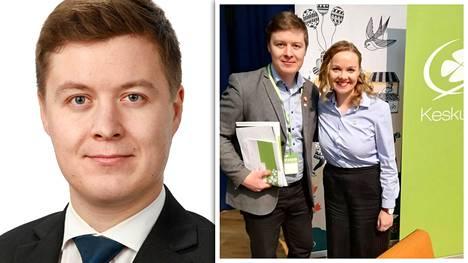 Tuomas Kettunen nousee eduskuntaan tapaturmaisesti kuolleen Antti Rantakankaan tilalle.