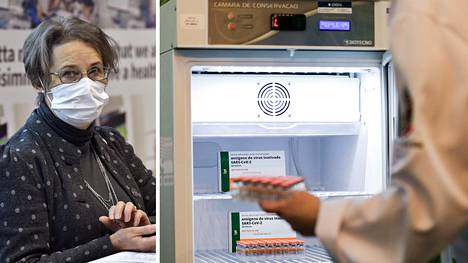 Sosiaali- ja terveysministeriön ylilääkäri Sari Ekholm kommentoi AstraZenecan rokotteen tilannetta.