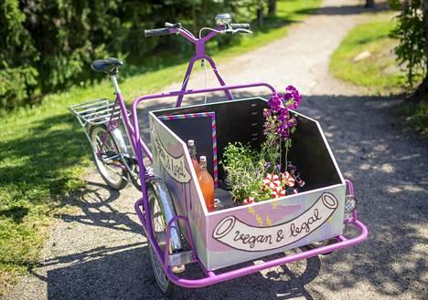 Kaikkiaan pyöräkahvila kustansi Kuoppalalle alle 1000 euroa.