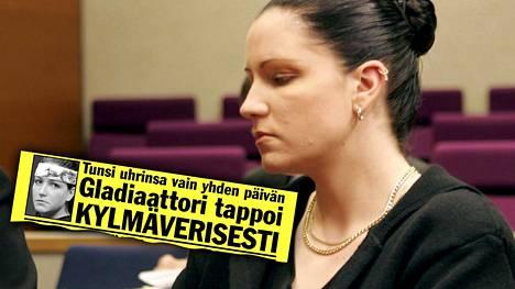 IS kertoi paloittelusurmasta muun muassa syyskuussa 2003. Virpi Butt kuvattiin hovioikeudessa Tampereella 2005.