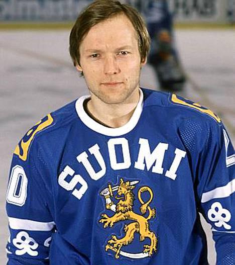 Erkki Laine esiintyi Leijona-paidassa kahdessa olympiaturnauksessa, 1984 ja 1988.