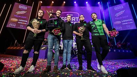 HAVU Gaming voitti Telian CS-sarjan toisen kauden.