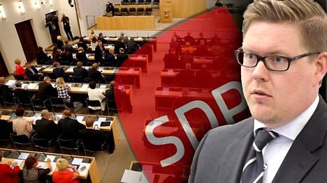 Antti Lindtmanin kerrotaan tehneen eduskunnan kyselytunneille listoja siitä, ketkä demariryhmän edustajat saavat esittää kysymyksiä.