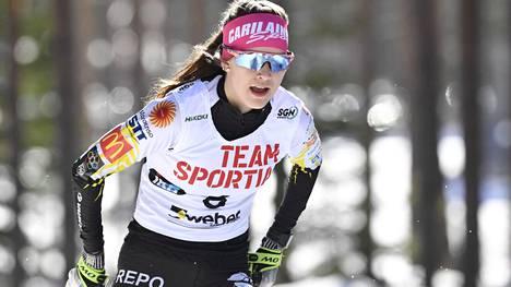 Jasmin Kähärä voitti SM-kultaa.